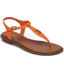 mallory thong shoes summer shoes flat sandals orange michael kors