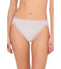 natori intimates bliss french cut brief panty, women's, 100% cotton, size xxl