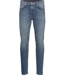 lean dean skinny jeans blå nudie jeans
