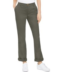 style & co bootcut chino pants, created for macy's