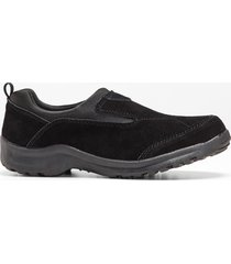 slip on in pelle (nero) - bpc bonprix collection
