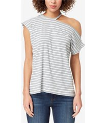 skinnygirl alex off the shoulder tee