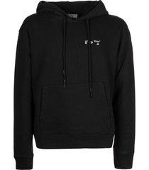 off-white ow logo slim hoodie
