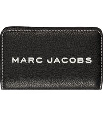 marc jacobs tag leather wallet