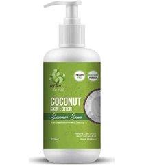 creme hidratante vegano de óleo de coco orgânico. para o corpo e rosto - 250ml - arbo de vivo