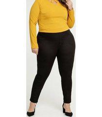 calça feminina jegging plus size uber jeans