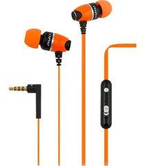 audífonos bluetooth manos llibres, 88hi auriculares de alta calidad de la en-oído auriculares estéreos de los deportes para el funcionamiento del walkman (naranja)