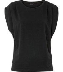 top in jersey (nero) - bodyflirt