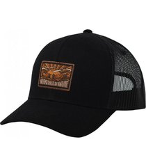 gorro truker canvas nbdin black gnomo