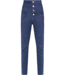 calça feminina mari - azul