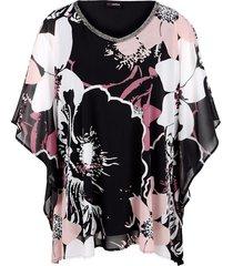 tuniek miamoda zwart::roze