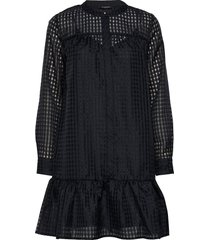 santonia chicka shirt dress kort klänning blå bruuns bazaar