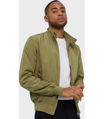 j lindeberg devin-poly canvas jackor green