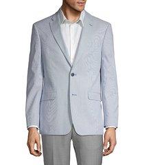 striped suit jacket