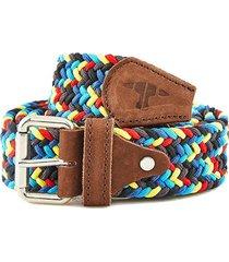 cinturón elástico jacinta multicolor juan becerra