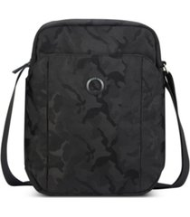 delsey picpus 2 compartment vertical crossbody bag