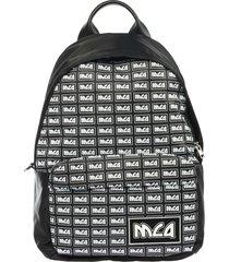 mcq alexander mcqueen metal repeat backpack