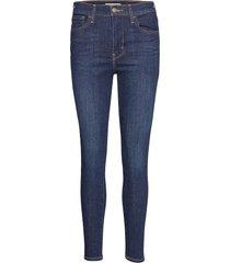 720 hirise super skinny indigo skinny jeans blå levi´s women