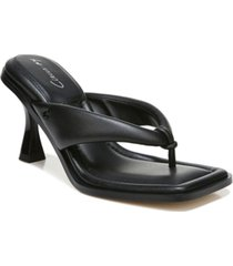 circus by sam edelman women's skeet square-toe thong dress sandals women's shoes