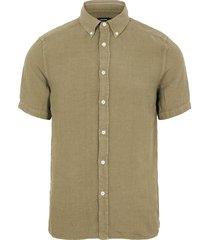 clean linen ss slim shirt