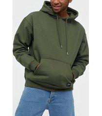 dr denim damien hoodie tröjor emerald