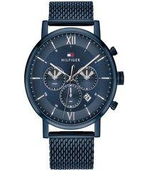 reloj tommy hilfiger 1710397 azul acero inoxidable