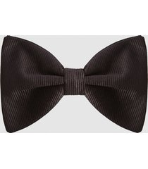 reiss callan - silk bow tie in black, mens