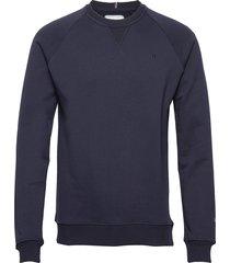 calais sweatshirt sweat-shirt tröja blå les deux