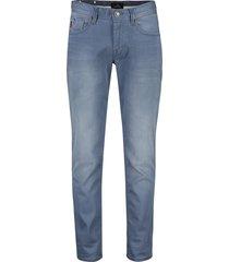 vanguard rider jeans 5-pocket blauw stretch