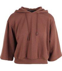 federica tosi cotton hoodie