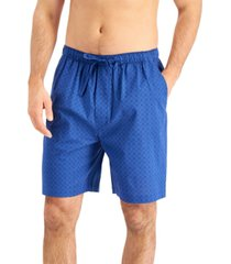 club room men's chandler printed pajama shorts, created for macy's