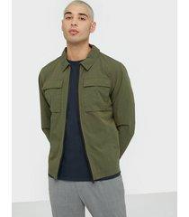 selected homme slhniles shirt jkt w ex jackor grön