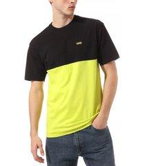 t-shirt korte mouw vans camiseta colorblock