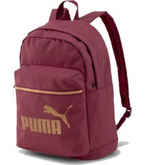 mochila bordó puma core base college bag