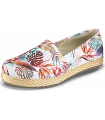 baletas sandrine blanco-multicolor para mujer croydon
