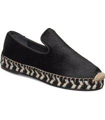 azur sandaletter expadrilles låga svart by malene birger
