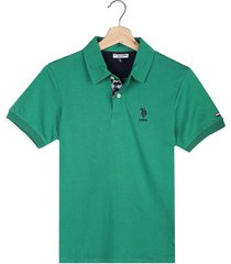 camiseta  us polo assn green