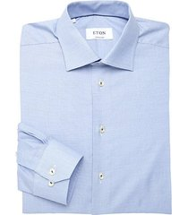 non-solid contemporary-fit cotton shirt