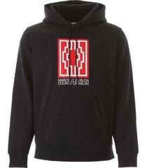 marcelo burlon rural cross hoodie