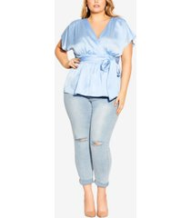 plus size tangled top