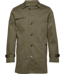 slhtimeless coat b dunne lange jas groen selected homme