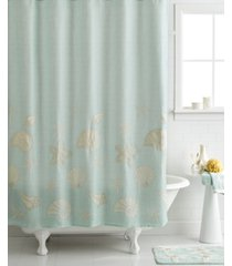 "avanti bath, sequin shells 72"" x 72"" shower curtain bedding"