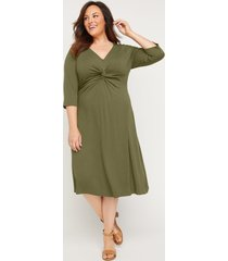 meryton knotted dress