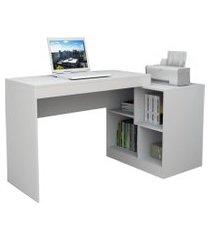 mesa para notebook escrivaninha moove esc 3001 branco - appunto