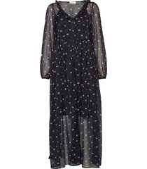 2nd petra anem maxi dress galajurk zwart 2ndday