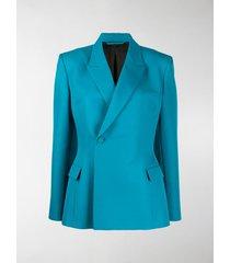 balenciaga double-breasted boxy blazer