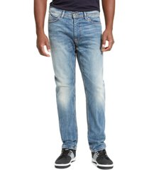 sean john men's athlete relaxed tapered-fit stretch jeans, created for macy's