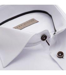 john miller heren overhemd wit widespread twill ml7 tailored fit