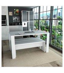 mesa de jantar retangular appunto mes3600 liv 4 lugares
