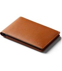 men's bellroy rfid travel wallet - brown